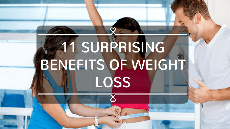 11 Surprising Benefits of Weight Loss