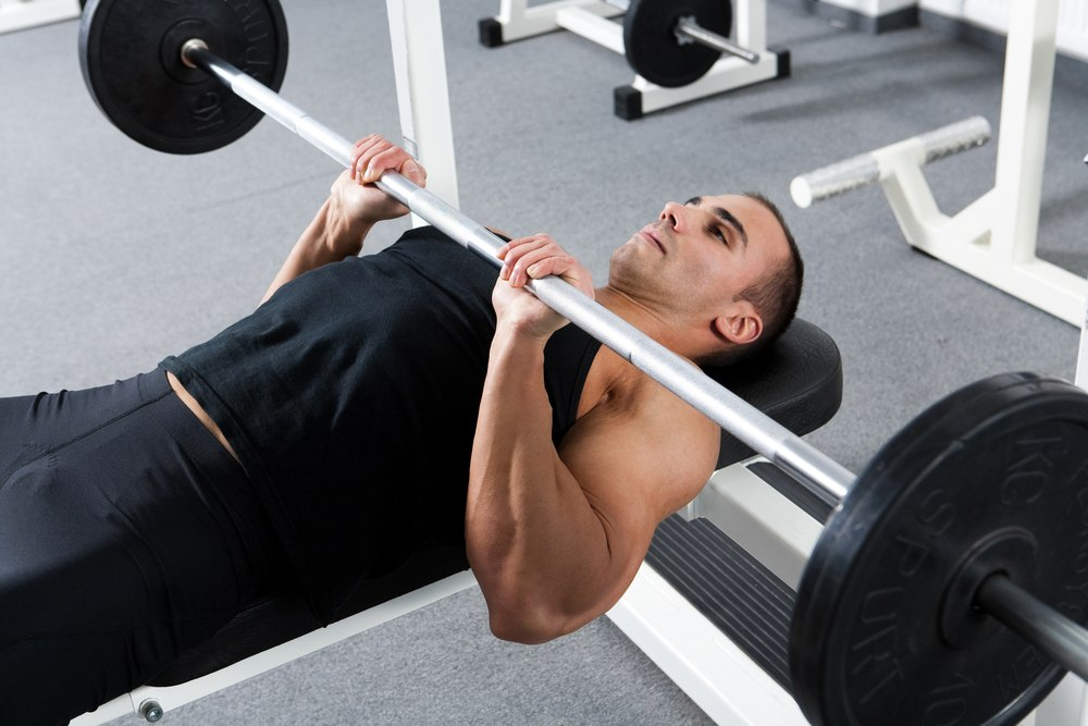 Guillotine Bench Press Part - 26: The Incline And Guillotine Bench Press Require More Of Your Arm Strength  Due To The Angle Or The Position. The Close-grip Bench Press Will Help You  ...